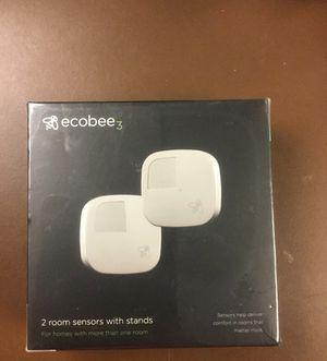 Ecobee3 2 pak sensors w/stands for Sale in Hampton, VA