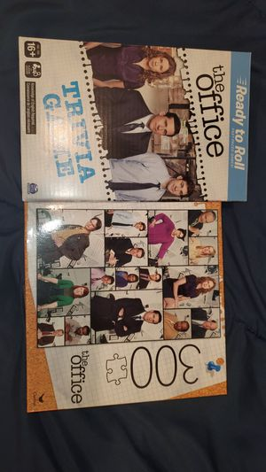 The Office Show Game and Puzzle for Sale in Jurupa Valley, CA