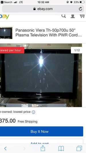 """Panasonic tv 50"""" for Sale in Forest Heights, MD"""