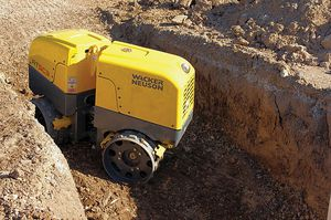Trench compactor, mini excavator median size , bob cat , dump truck for Sale in Los Angeles, CA