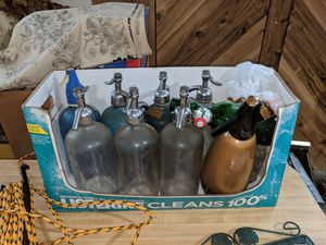 Antique seltzer bottles for Sale in Queens, NY