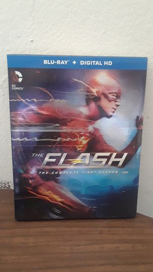 The Flash first season complete blu ray for Sale in Irwindale, CA