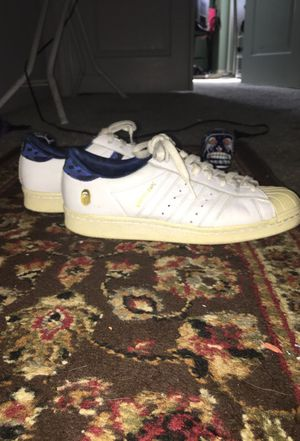 Bape x Undefeated Adidas Superstars for Sale in Fresno, CA