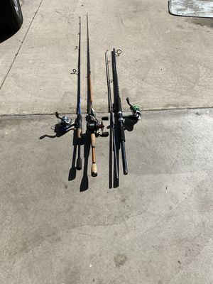 Fishing rods for Sale in Corona, CA