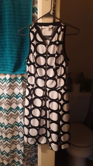 Black and white zipper front dress for Sale in Lebanon, TN