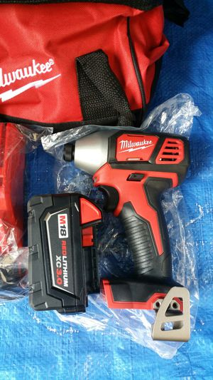 $140. Milwakee M18 impact drive kit for Sale in Evergreen, CO
