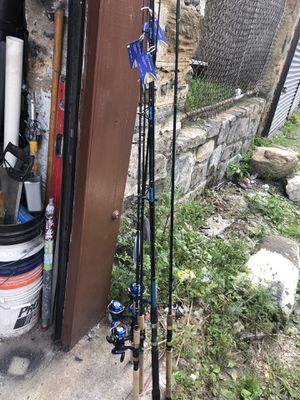 New fishing poles for Sale in Yonkers, NY