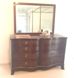 2 Vintage 1940s Antique Retro Mahogany Dressers for Sale in Chantilly, VA