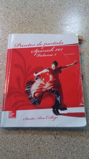 Puntos De Partida Spanish 101 Volume 1 Tenth Edition for Sale in Santa Ana, CA