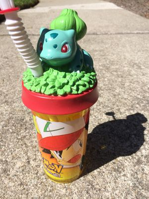 1999 Pokemon Bulbasaur Collectable Mug Cup Pokémon Pikachu Ash NIntendo for Sale in San Ramon, CA