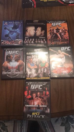 UFC DVD's for Sale, used for sale  Trenton, NJ