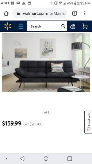 Mainstays memory foam futon(multi fuctional) for Sale in Phoenix, AZ