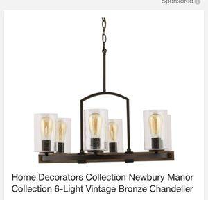 Home Decorators Collection Newbury Manor Collection 6-Light Vintage Bronze Chandelier for Sale in Tempe, AZ