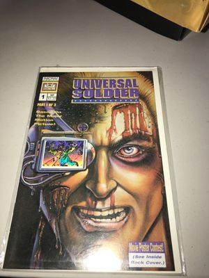 Universal Soldier (1992 now) Comic Book Part 1 for Sale in Los Angeles, CA
