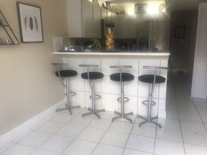 Barstools all 4 for $80 for Sale in Miami, FL
