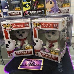Funko Pop Diamond Collection Coca-Cola Polar Bear for Sale in Houston, TX