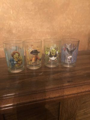 McDonald's Glass Set of 4 Sherk Collection for Sale in Berkeley, CA