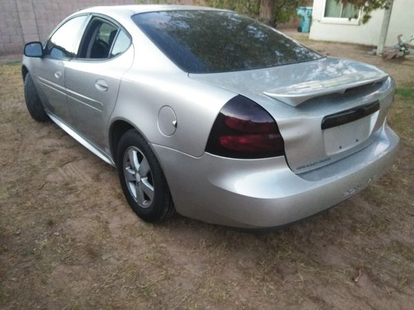 Silver 2007 Pontiac Grand Prix. GM 3800. V6 engine