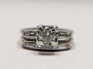 Vintage Diamond ring set for Sale in Tampa, FL