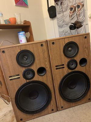 Pair Of 3-Way Stereo Speakers for Sale in Berwyn Heights, MD