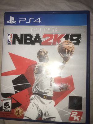 2k18 ps4 game for Sale in West Palm Beach, FL