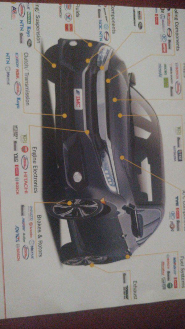 Auto Parts on line Genuine aftermarket