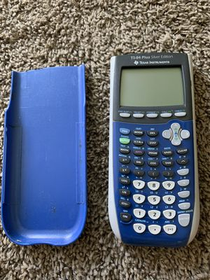 TI-84 plus silver edition graphing calculator for Sale in Oceanside, CA