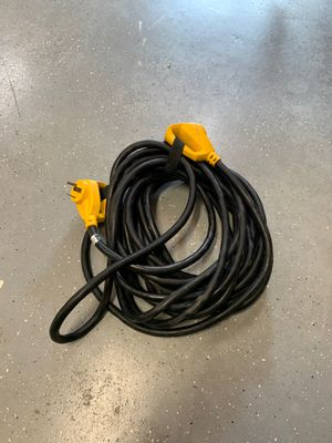 Camco RV extension cord- 30 amp, 50' long for Sale in Raleigh, NC