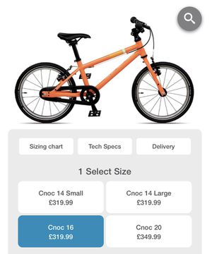 "Islabikes cnoc starter bike 16"" - great for ages 4-7 for Sale in Denver, CO"