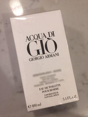 Acqua di Gio 3.4 oz tester for Sale in Jersey City, NJ