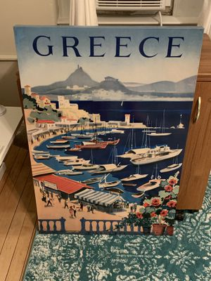 Canvas wall art, Greece, Athens Bay for Sale in Washington, DC