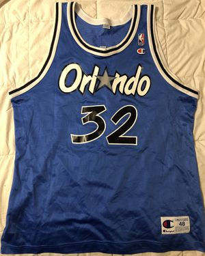 Orlando Magic Champion Shaquille O'Neal Basketball Jersey for Sale in Hacienda Heights, CA