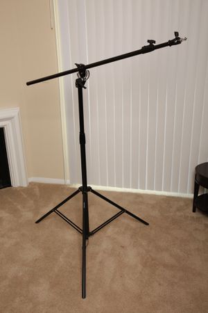 """Boom Arm Light Stand for Studio Lights 6' Stand 80"""" Arm for Sale in Los Angeles, CA"""