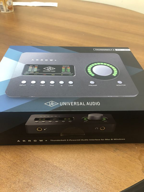 Apollo Arrow interface by universal audio