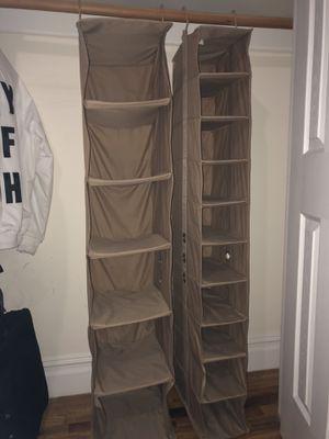 Hanging Shelf Closet Organizer for Sale in New York, NY