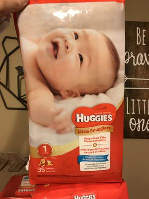 Diapers size 1 for Sale in Plano, IL