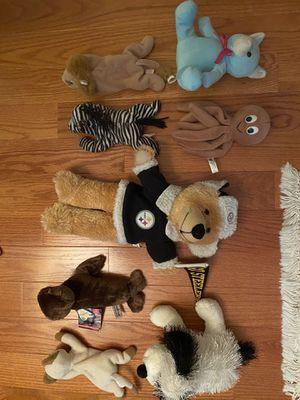 ty Beanie Babies & Steelers bear for Sale in Lorton, VA