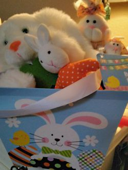 Bunnies In A Basket Box for Sale in Fort Mohave,  AZ