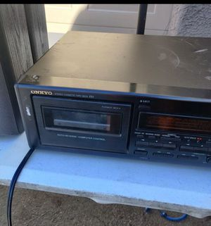 Onkyo cassette Tape Deck TA-RW222 for Sale in Las Vegas, NV