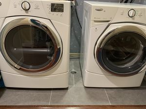 Whirlpool front load duet washer and gas dryer set for Sale in San Diego, CA