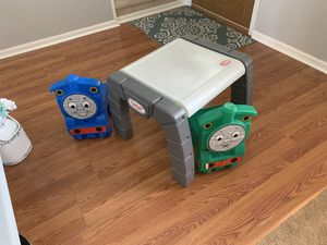 Thomas kids desk table and chairs for Sale in Avon, OH