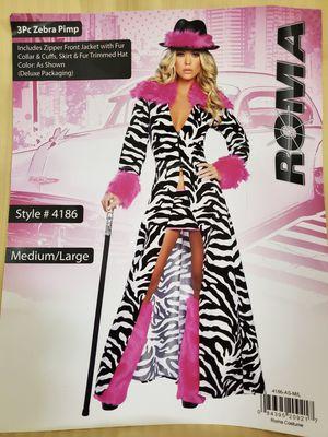 Zebra Pimp Costume for Sale in West Sacramento, CA