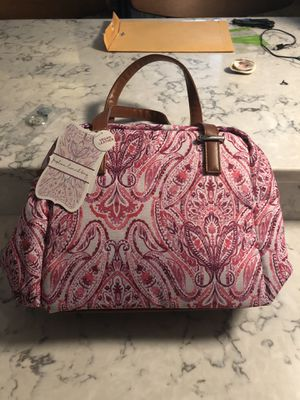 Fashion Pink Lunch Bag with Zipper for Sale in Falls Church, VA