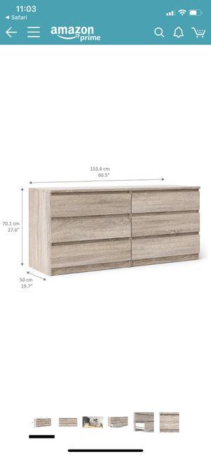 Tvilum 6-drawer dresser for Sale in Delray Beach, FL