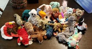 Lot of 44 Beanie Babies for Sale in Bastrop, TX