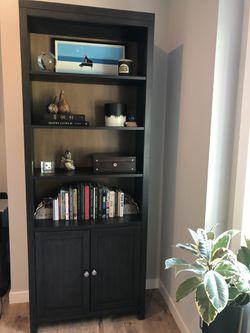 Dark Brown Wood bookcase for Sale in Kirkland,  WA
