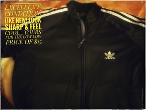 Adidas Mens Zip Up Workout & Athletic Jacket for Sale in Littleton, CO