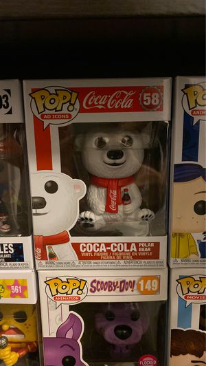 Coca Cola polar bear pop Funko for Sale in Huntington Beach, CA