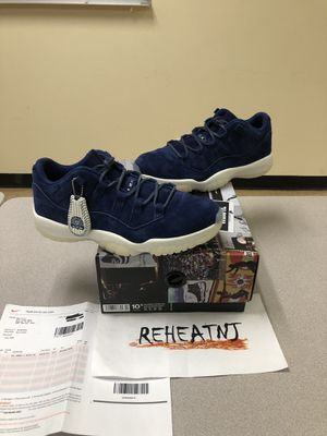c4478d7a838e2b New Nike Air Jordan Retro XI 11 Low RE2PECT Binary Jeter Size 10.5 for Sale  in