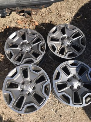 4 brand new Jeep Wrangler rubicon r17 wheels for Sale in MD CITY, MD